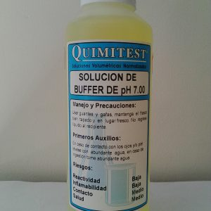 SOLUCIÓN BUFFER DE PH 7.00 500 ML. – QUIMITEST